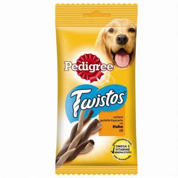 Pedigree Snack Twistos mit Huhn 8 Stück (Menge: 12 je Bestelleinheit)