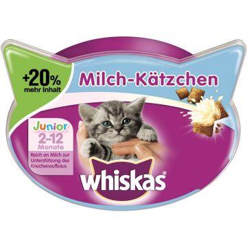 Whiskas Snack Milch-Kätzchen 66g (Menge: 6 je Bestelleinheit)