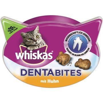 Whiskas Snack Dentabites mit Huhn 48g (Menge: 6 je Bestelleinheit)