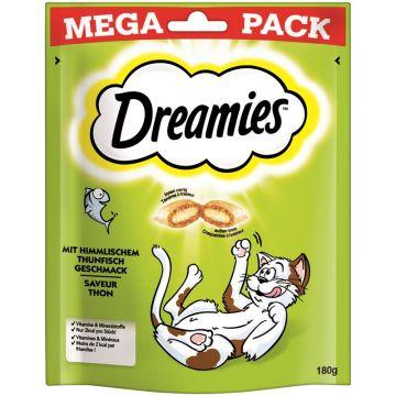 Dreamies Cat Snack mit Thunfisch 180g Mega Pack (Menge: 4 je Bestelleinheit)