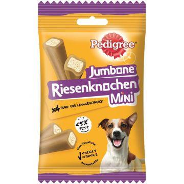 Pedigree Snack Riesenknochen Mini mit Huhn & Lammgeschmack 160g (Menge: 8 je Bestelleinheit)