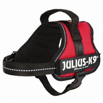 Julius K9 Powergeschirr Mini Mini S: 40 bis 53 cm, rot