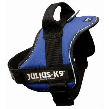 Julius K9 Powergeschirr Gr. 0 M bis L: 58 bis 76 cm, blau