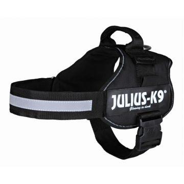 Julius K9 Powergeschirr Gr. 2 L bis XL: 71 bis 96 cm, schwarz