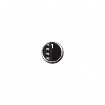 Julius-K9 Powergeschirr, Baby 1/XS: 30-40 cm, schwarz