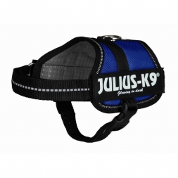 Trixie Julius-K9 Powergeschirr, Baby 1/XS: 30-40 cm, blau
