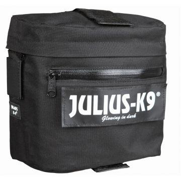 2 Julius-K9 Packtaschen, schwarz