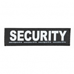 2 Julius-K9 Klettsticker SECURITY