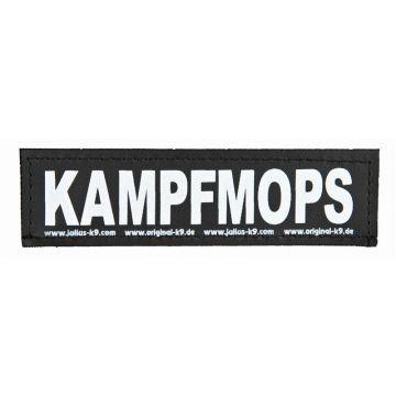 2 Julius-K9 Klettsticker KAMPFMOPS