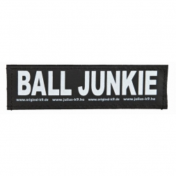 2 Julius-K9 Klettsticker BALL JUNKIE