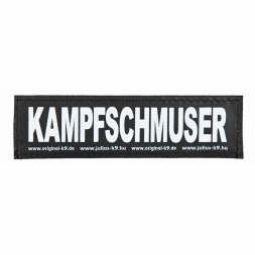 2 Julius-K9 Klettsticker KAMPFSCHMUSER