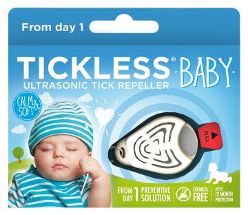 TickLess BABY Ultraschallgerät gegen Zecken für Babys - Beige