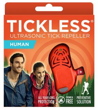TickLess HUMAN Ultraschallgerät gegen Zecken für Erwachsene - Orange