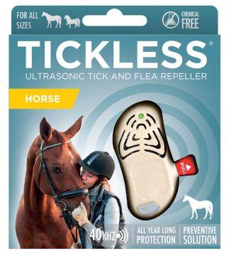TickLess HORSE Ultraschallgerät gegen Zecken für Pferde - Beige