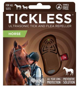 TickLess HORSE Ultraschallgerät gegen Zecken für Pferde - Braun