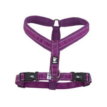 Hurtta Casual Y-Geschirr, violett, 70 cm