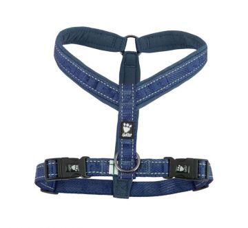 Hurtta Casual Y-Hundegeschirr blau, 35 cm