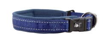 Hurtta Casual Halsband blau, 20-30 cm
