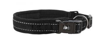 Hurtta Casual Halsband schwarz, 30-40 cm