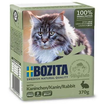 Bozita Cat Tetra Recard Häppchen in Gelee Kaninchen 370g (Menge: 16 je Bestelleinheit)