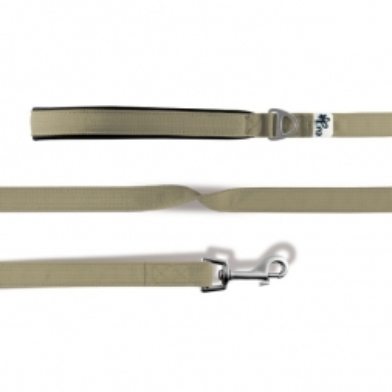 Curli Basic Leine Nylon 140x2cm Tan