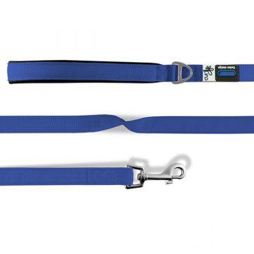 Curli Basic Leine Nylon 140x1.5cm Blau