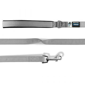 Curli Basic Leine Nylon 140x2cm Grau