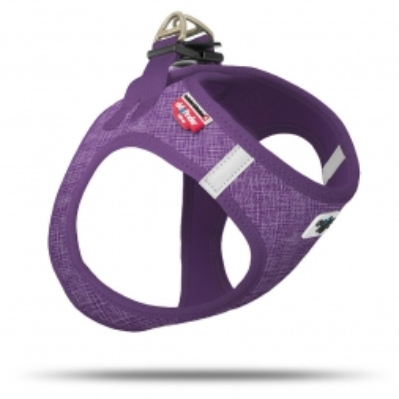 Curli Vest Geschirr Air-Mesh Leinenoptik lilac 2 XS
