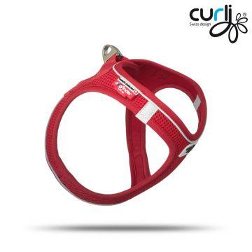 Curli Vest Geschirr Magnetic Rot M