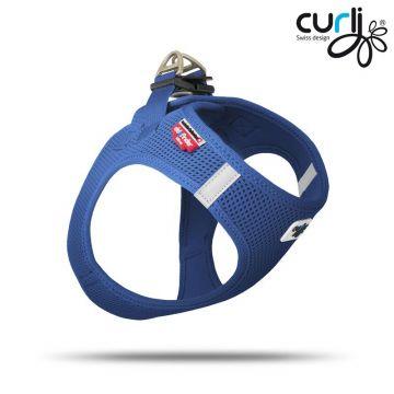 Curli Vest Geschirr Blau XS