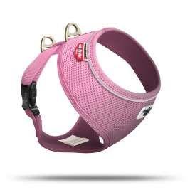 Curli Basic Geschirr Air-Mesh Pink M