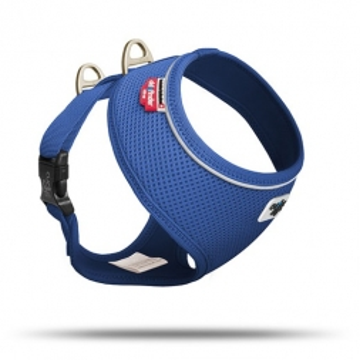 Curli Basic Geschirr Air-Mesh Blau L