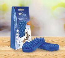 pet&me Bürste blau