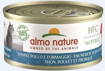 Almo Nature Legend - Thunfisch, Huhn & Käse 70g (Menge: 24 je Bestelleinheit)