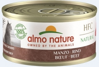 Almo Nature HFC Natural Rind 70g (Menge: 24 je Bestelleinheit)