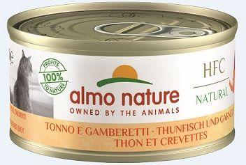 Almo Nature Legend - Thunfisch & Garnelen 70g (Menge: 24 je Bestelleinheit)