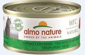 Almo Nature Legend - Thunfisch mit Mais 70g (Menge: 24 je Bestelleinheit)