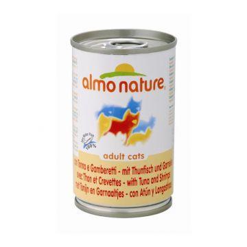 Almo Nature Classic - Thunfisch & Garnelen 140g (Menge: 24 je Bestelleinheit)