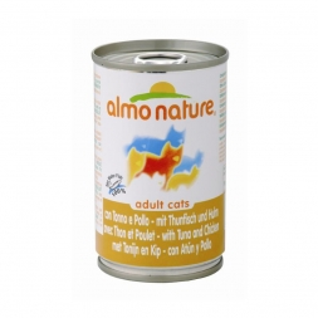 Almo Nature Classic - Thunfisch & Huhn 140g (Menge: 24 je Bestelleinheit)