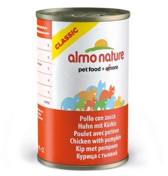 Almo Nature HFC Natural Huhn mit Kürbis 140g (Menge: 24 je Bestelleinheit)