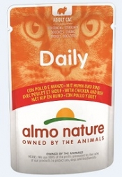 Almo Nature PFC Daily Menu Huhn & Rind 70g (Menge: 30 je Bestelleinheit)