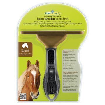 Furminator für Pferde grün