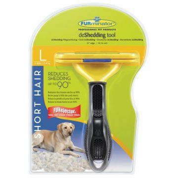 Furminator deShedding Tool für kurzhaarige große Hunde