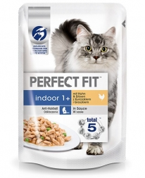 Perfect Fit Cat PB Indoor Huhn 85g (Menge: 12 je Bestelleinheit)