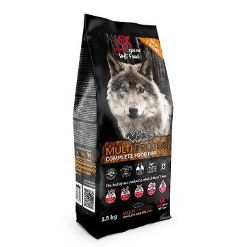 alpha spirit Complete Dog Food Multiprotein 1,5kg