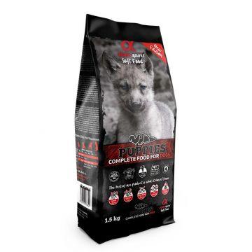 alpha spirit Complete Dog Food Puppies 1,5kg