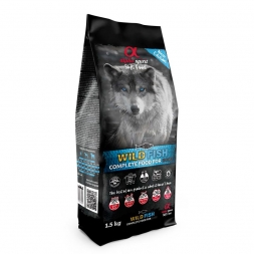 alpha spirit Complete Dog Food Wild Fish 1,5kg