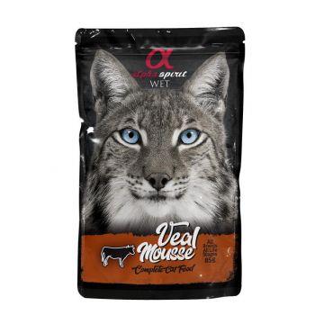 alpha spirit Cat Pouch beef mousse 85g (Menge: 24 je Bestelleinheit)