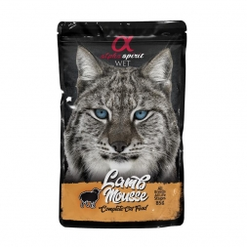 alpha spirit Cat Pouch Lamb mousse 85g (Menge: 24 je Bestelleinheit)