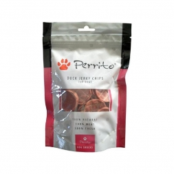 Perrito Duck Jerky Chips 100g
